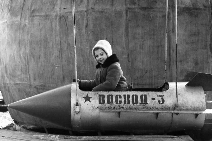 Томск-7, дети, карусель