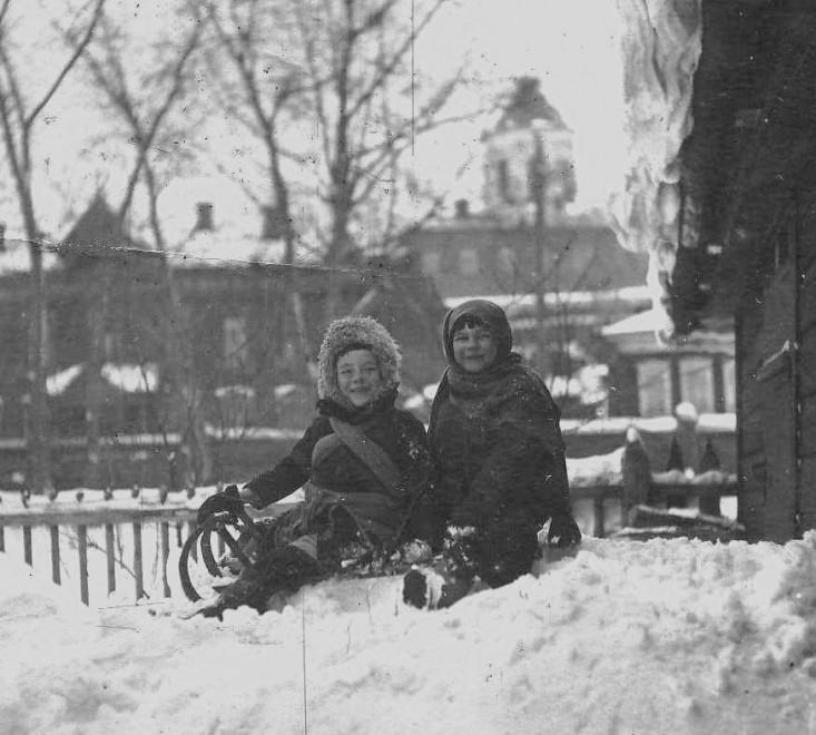 дети Томск зима